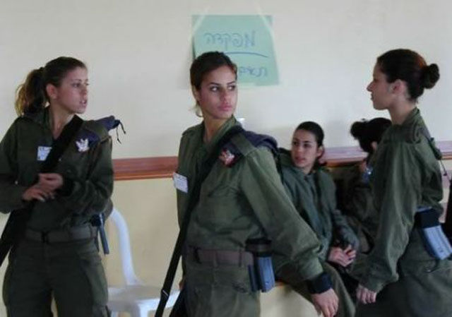 Israeli Girls in Army at SmileCampus