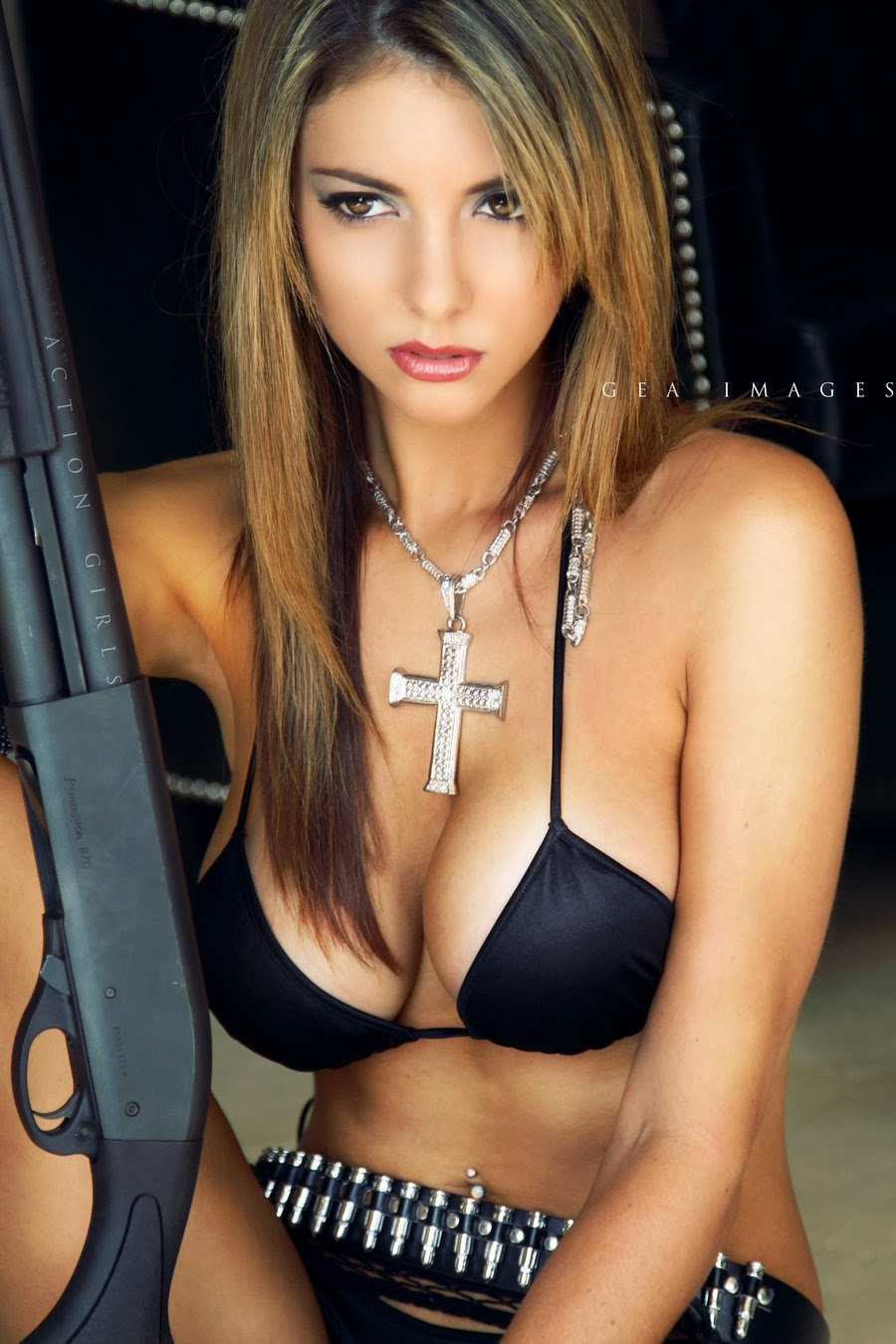 Monsters, guns and boobs