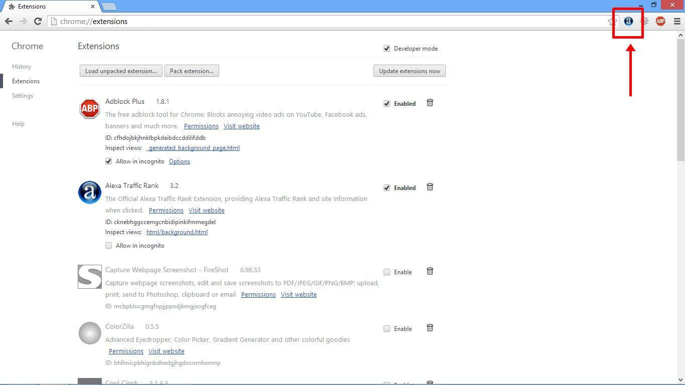 Cara Memasang Alexa Toolbar di Chrome gambar 3