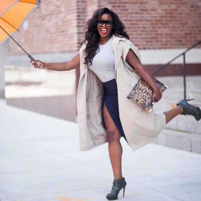 Look1-Blogueira negra inspiração: The Style and Beauty Doctor