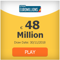 #EuroMillions 48 million and rain of millions: odds, clubs