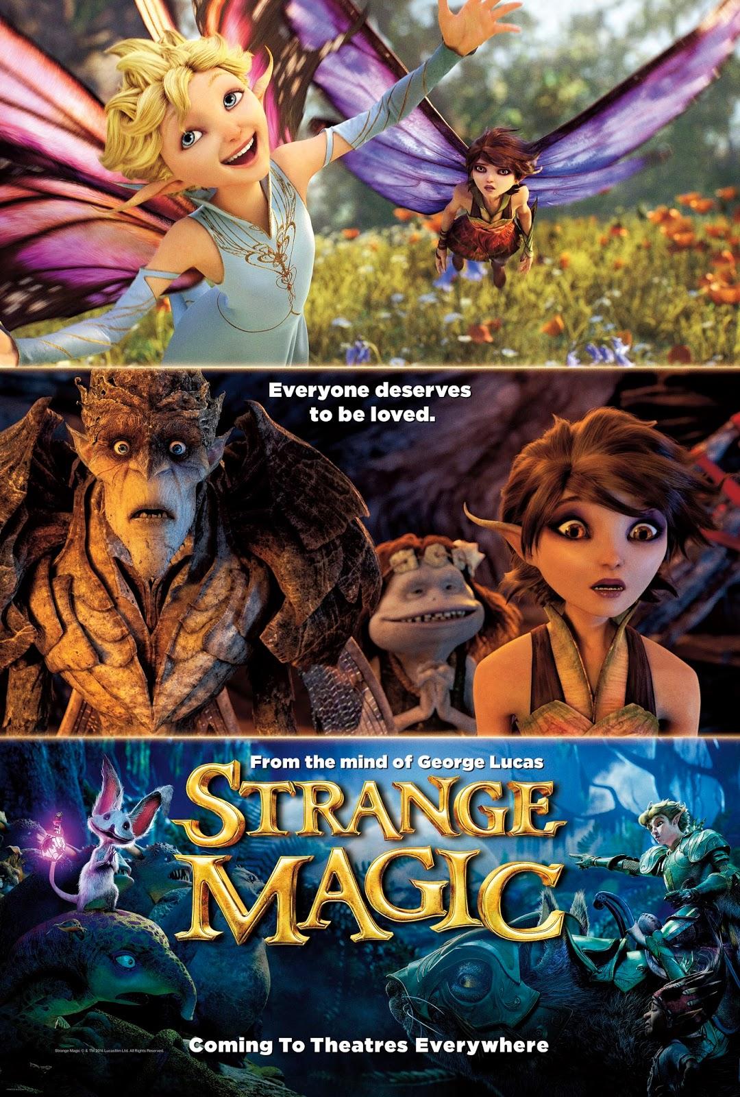 Strange Magic มนตร์มหัศจรรย์ [HD][พากย์ไทย]