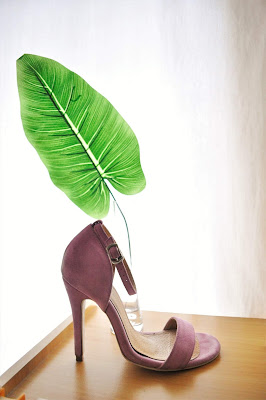 SALA CHAUSSURES BARELY THERE STILETTOS IN PURPLE