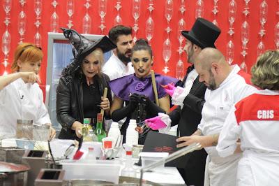 Lucimara, Pavorô e Murilo tocam o terror na cozinha  Crédito: Gabriel Gabe/SBT