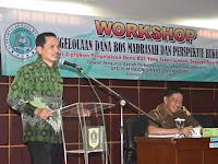Perkumpulan Guru Madrasah Kab. Bogor dan Kejari Gelar Workshop Pengelolaan Dana BOS