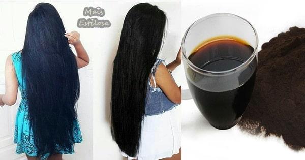 tonalizante caseiro para cabelos escuros com chá preto