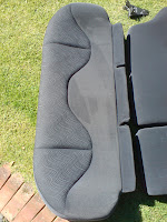 Rover 25 cloth rear bench