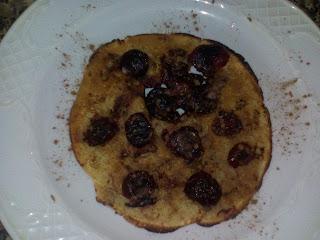 tortita-cereza-desayuno-sano