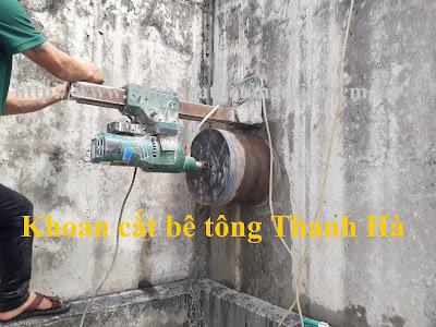 Khoan cắt bê tông tại huyện Ba Tri