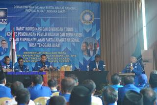 PAN NTB Optimis Menangkan Pemilu 2019