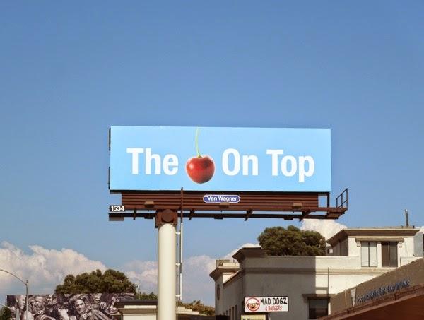 cherry on top billboard