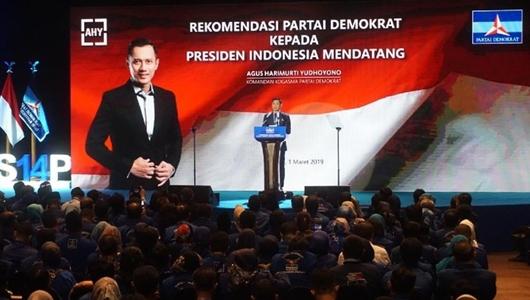 Pidato AHY Harapan untuk Jokowi atau Prabowo?