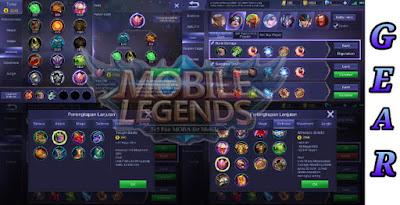 Cara Menggunakan Gear Di Game Mobile Legends