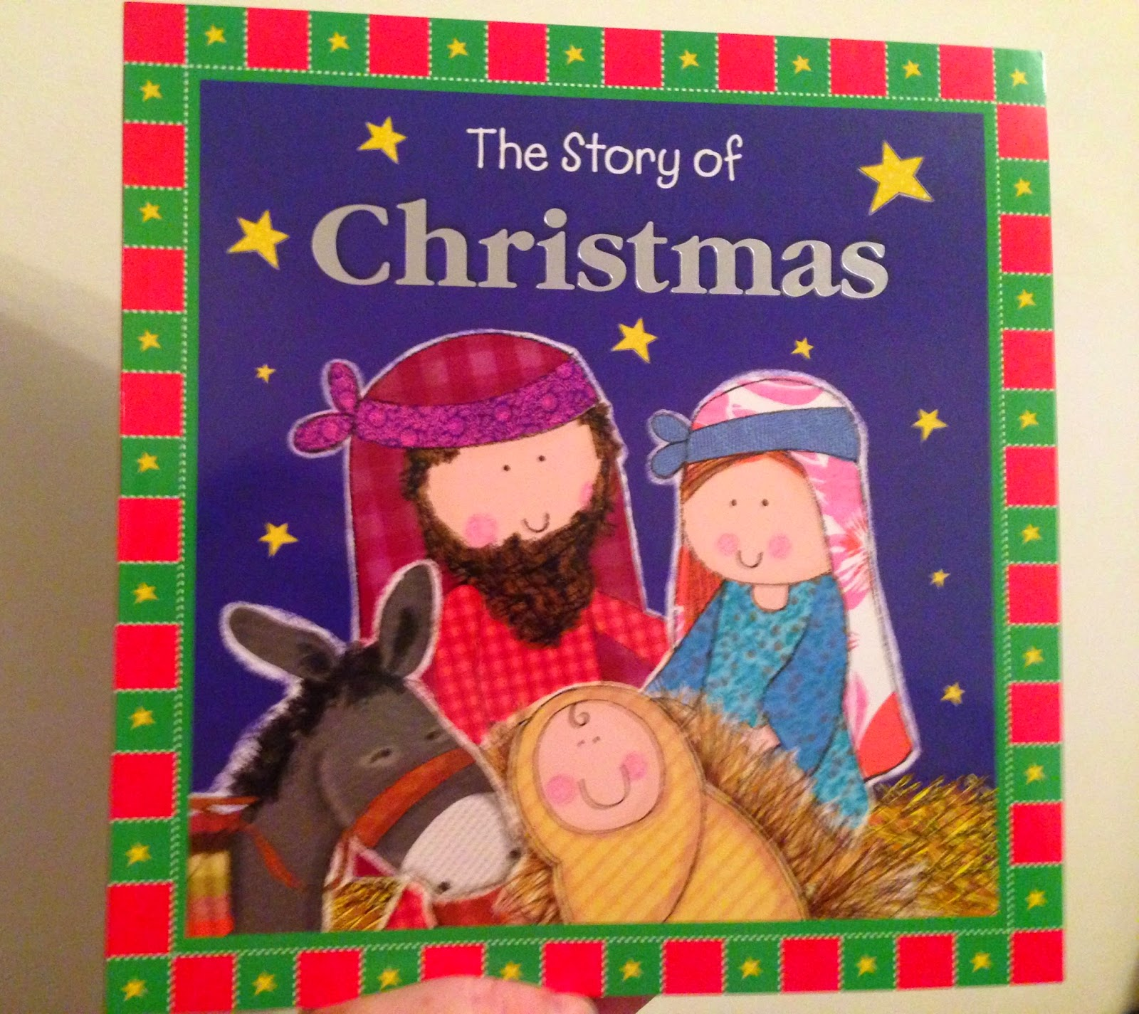 Our Christmas Book Advent tree | Ideas for the Best Children's Books to Buy this Christmas - The story of christmas
