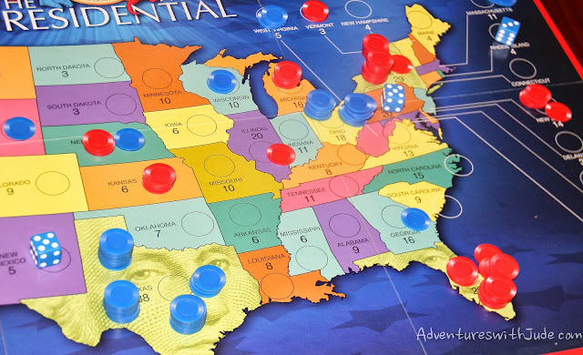 the presidental game - having fun with electoral college