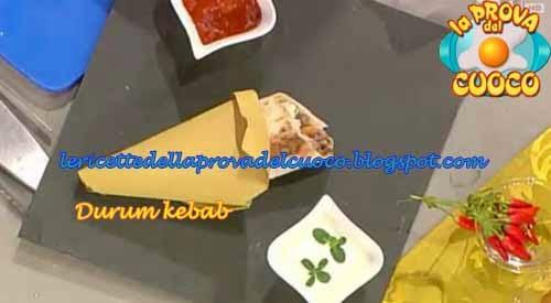 Ketchup Ricetta Mainardi.Durum Kebab Ricetta Andrea Mainardi Da La Prova Del Cuoco