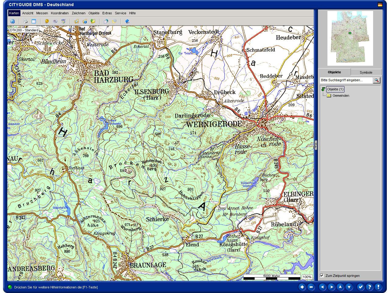Deutschlandkarte Blog Tk200 Topographische Landkarte 1 200 000