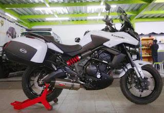 LAPAK MOGE BEKAS : Kawasaki Versys 2012 ISTIMIWIR - BALI
