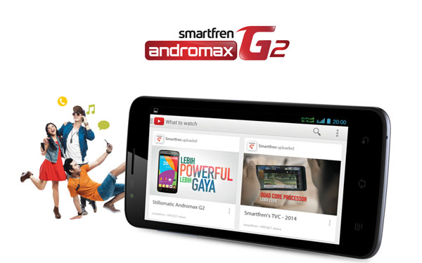 Andromax G2: Sudah Quad-Core, Cuma Rp1,2 Juta
