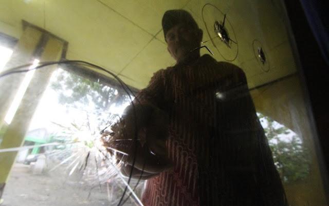 Astaghfirullah! Rumah Pengurus NU Diberondong Tembakan Airsoft Gun
