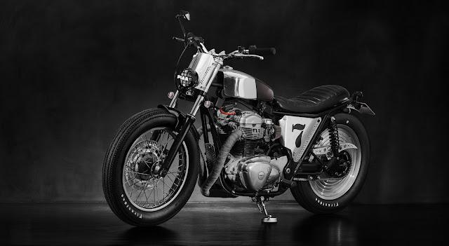 Kawasaki W650 độ Tracker - Người Hồng Kong lên tiếng