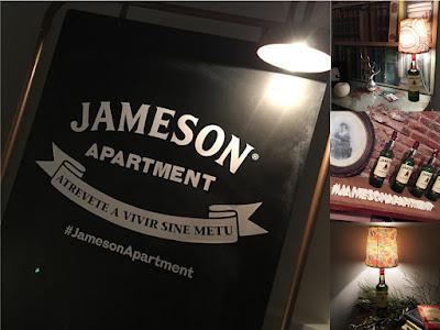 #JamesonApartment collage Chez Agnes