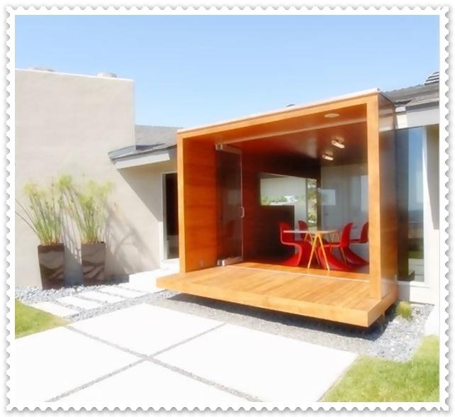 contoh model gambar teras perumahan minimalis tampak depan
