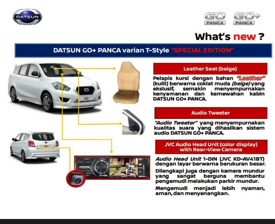 Datsun Go+ Special Edition