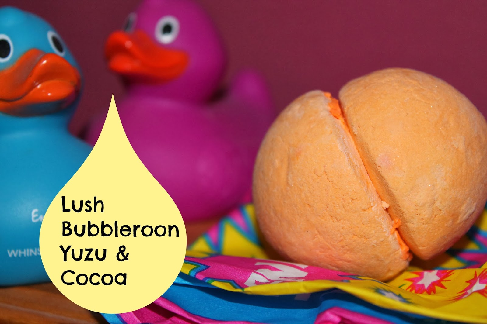 Lush Bubble Bar Yuzu and Cocoa