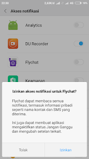 Cara membuat bubble chat whatsapp serta notifikasinya