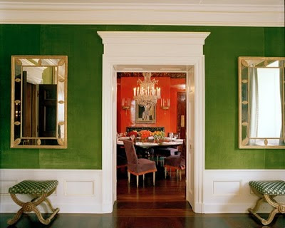 Livin*Westside: Entry No. - Dining Rooms Green Walls