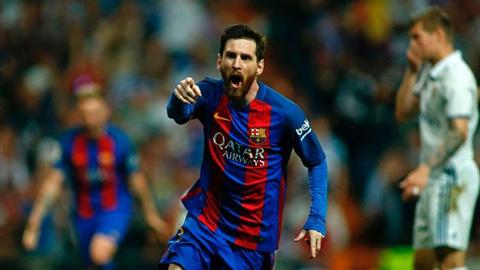 Hầu hết người hâm mộ đều há hốc miệng trước những pha quả cảm của Lionel Messi.