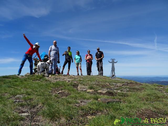 Ruta al Mustallar: Cima del Pico Mustallar, Techo de la provincia de Lugo