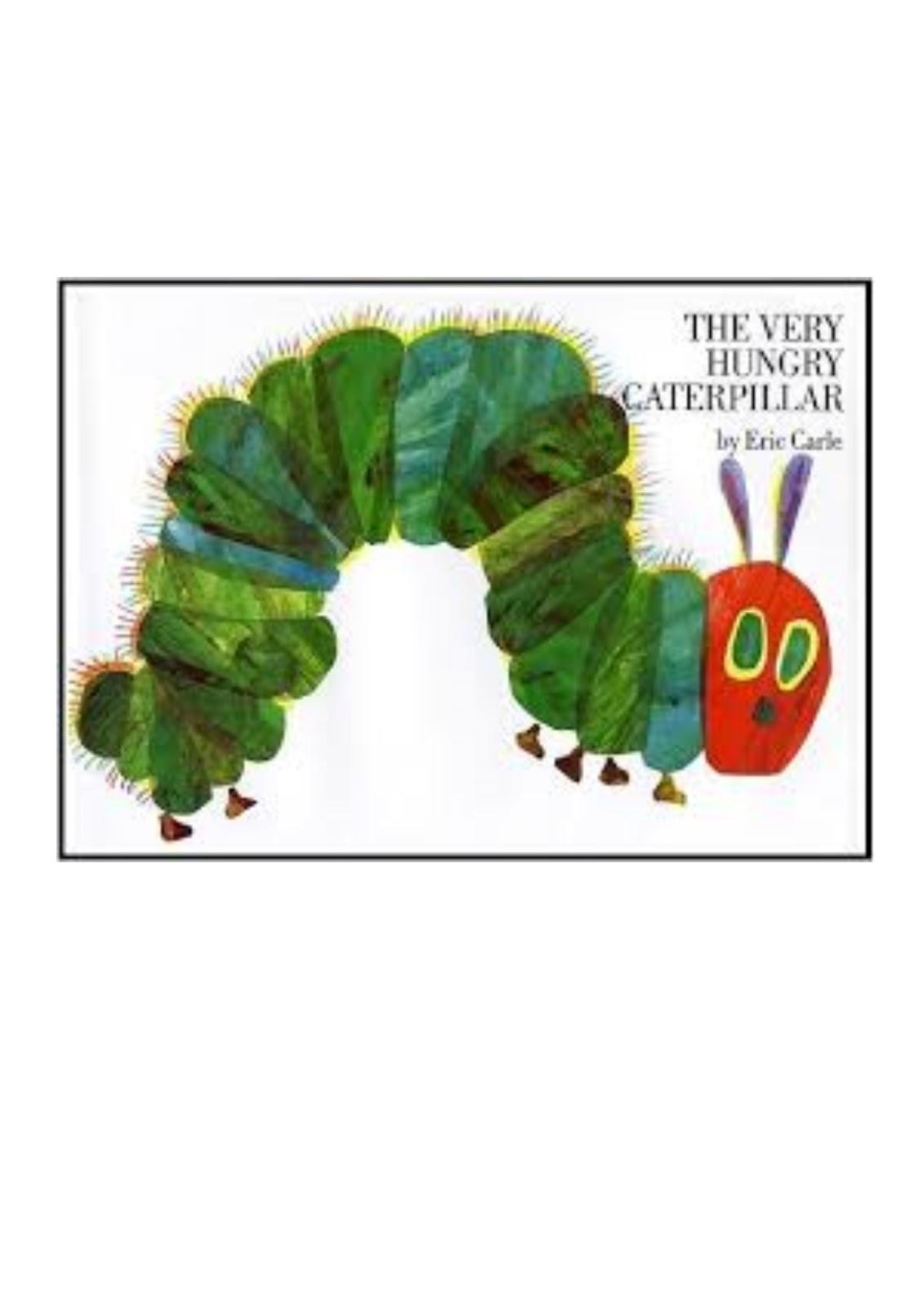 La Petite Chenille Qui Fait Des Trous : petite, chenille, trous, Maicresse, Karine:, Hungry, Caterpillar