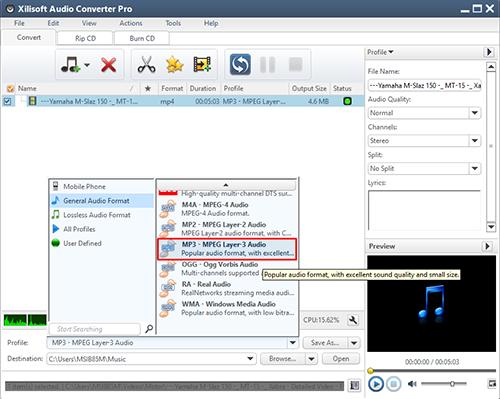 Cara Mengubah File Video Menjadi File MP3 Dengan Xilisof Audio Conventer 2