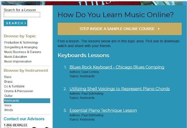 Colegiul de Muzica Berklee ofera gratuit lectii de muzica online