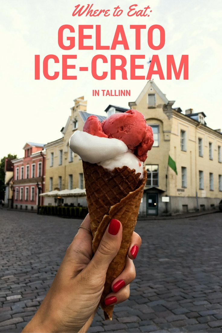 ice cream shops in tallinn
