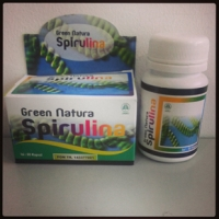 Kapsul Green Natura SPIRULINA