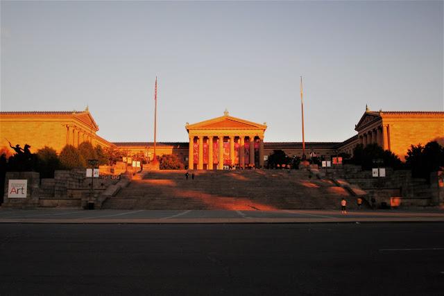 Scalinata di Rocky a Philadelphia