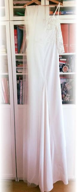 robe de mariage couture par couturère à Versailles