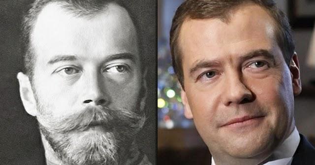 дмитрий медведев с бородой фото шарфов голову