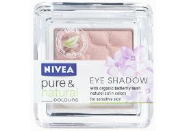 Prueba la sombra de ojos Nivea Pure & Natural