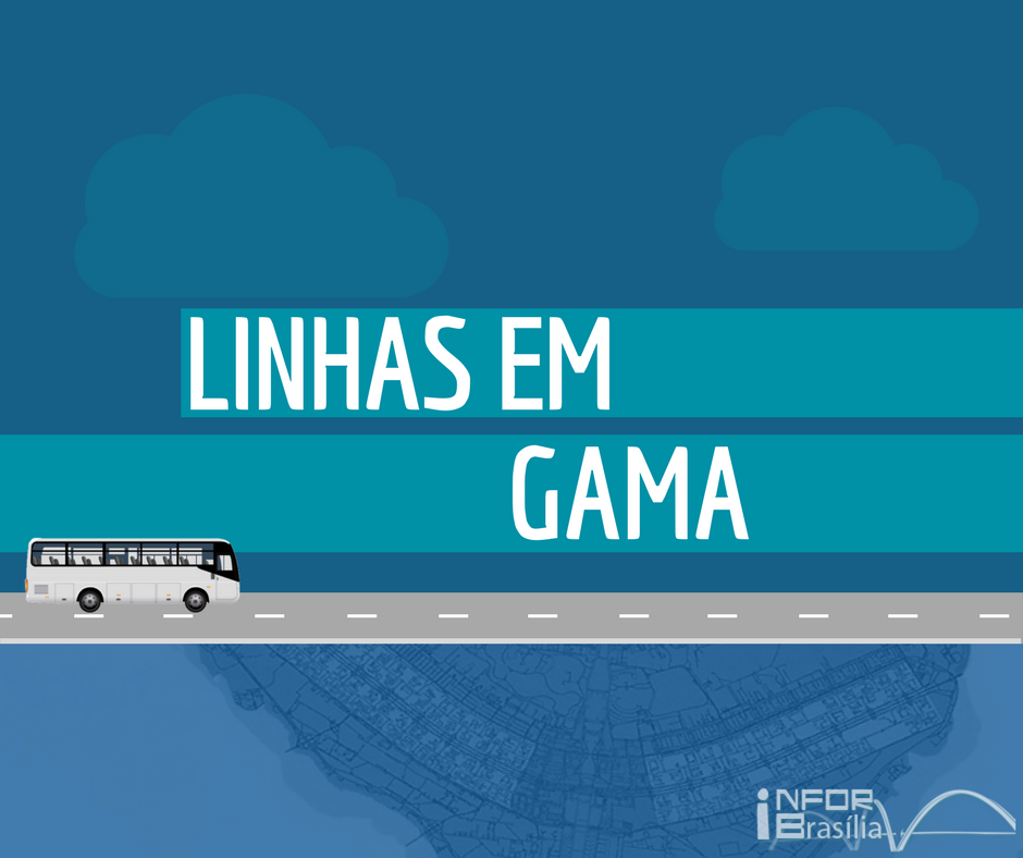 Horário de ônibus das linhas do Gama