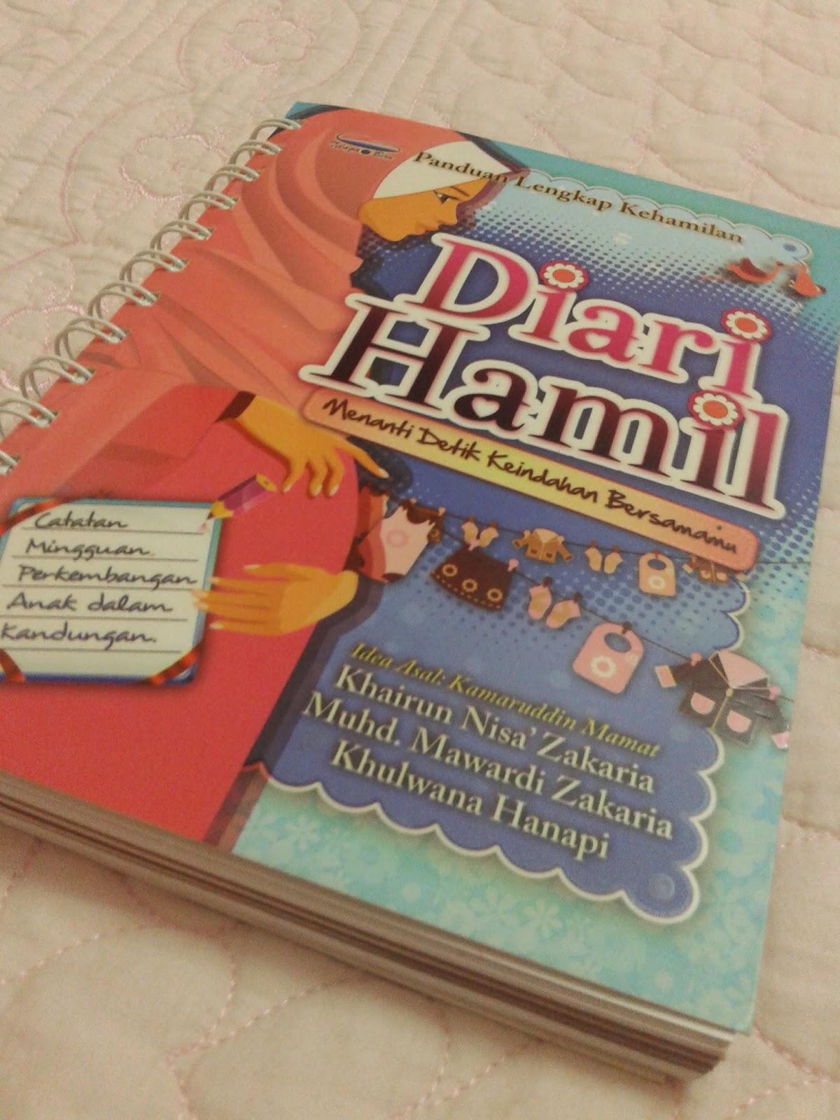 buku diari hamil keluaran telaga biru