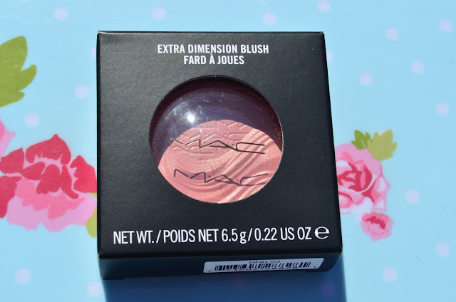Image of the MAC blusher packaging