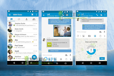 BBM Official Update v3.1.0.13 Apk For Android Terbaru Fresh