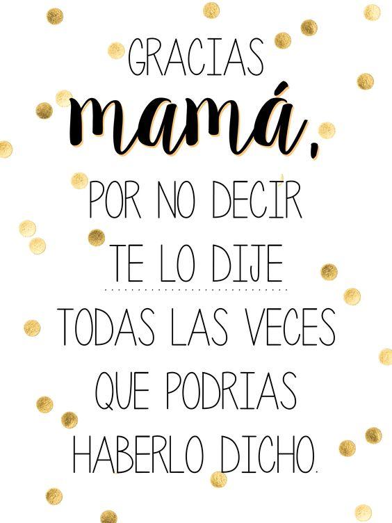 Feliz día mamá para ti