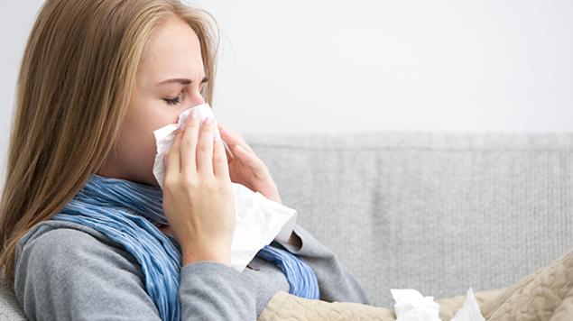 استخدام العلاج الطبيعي للتخلص من نزلات البرد والانفلونزا