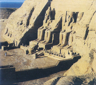 Abu Simbel, the Great Temple