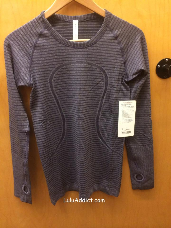 lululemon grape swiftly ls